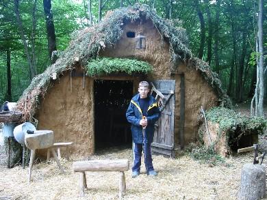 Cabane du charbonnier - 2002