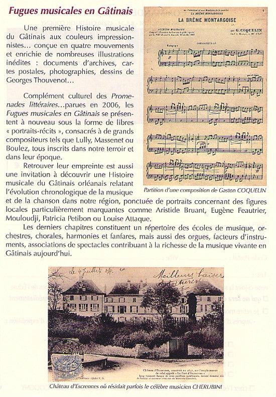 Daniel Plaisance - Fugues musicales en Gâtinais