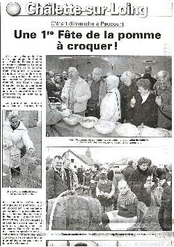 Cliquez sur cette miniature pour visualiser la 1ère partie du compte rendu publié dans l'Eclaireur-du-Gâtinais du 19.11.2009