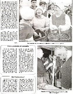 Cliquez sur cette miniature pour visualiser la 2ème partie du compte rendu publié dans l'Eclaireur-du-Gâtinais du 19.11.2009