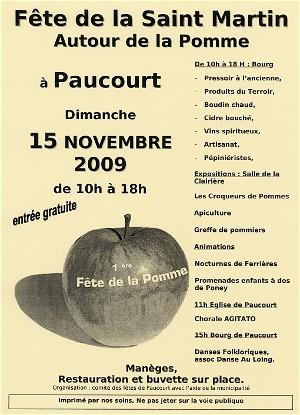 Cliquez sur cette image pour visualiser le tract diffusé par le Comité des Fêtes de Paucourt