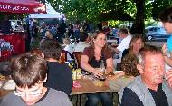 Repas concocté par le Comité des Fêtes et les boissons distribuées par l'Auberge de la Tonnelle. Cliquez pour agrandir la photo.