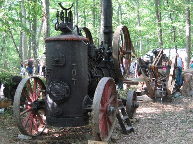La locomobile à vapeur de 1930