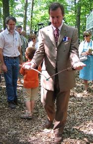 Franck Demaumont, apprenti sourcier - 2006