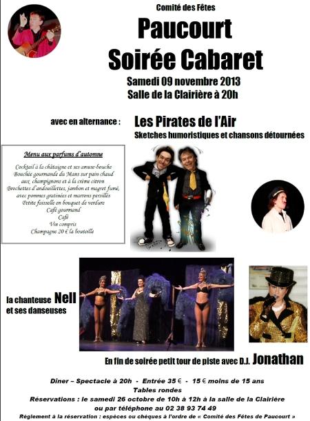 Visualisez, téléchargez, imprimez au format .pdf l'affiche de la Soirée Cabaret 2013.