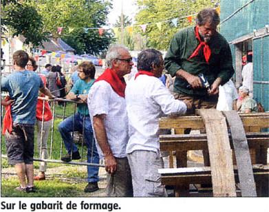 Cliquez sur cette photo pour visualiser l'article paru dans l'Eclaireur-du-Gâtinais du 31 Juillet 2014.