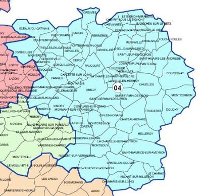 Paucourt fait partie de la 4ème circonscription du Loiret