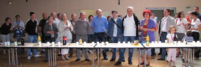 Réception par la Municipalité des associations qui ont oeuvré pour l'animation de la commune en 2012 - 2013.