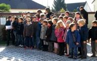 Les enfants de l'Ecole de Paucourt.