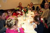 La table où les enfants étaient rois (et reines).