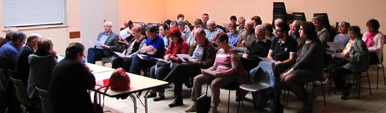 Assemblée Générale du Comité des Fêtes de Paucourt du 11 Avril 2014