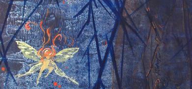 La fée chauve-souris de Nadège Raineteau. Cliquez pour agrandir la photo.