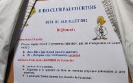 Les règles du jeu du Judo Club Paucourtois.