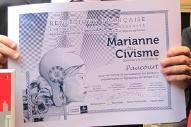 Le diplôme de la Marianne du Civisme.