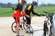 Nettoyage de vélos !