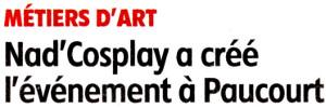 2ème article publié par l'Eclaireur-du-Gâtinais le 16.11.2016 sur nos 2èmes Journées des Créateurs et des Métiers d'Art