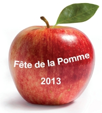 Logo Fête de la Pomme 2013