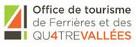 Newsletter de l'Office de Tourisme de Ferrières et des Qu4tre Vallées