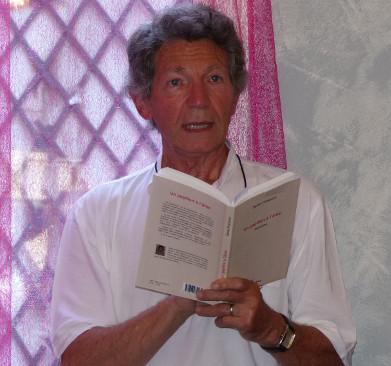 Salon de thé l'Aromatisé - Montargis - 20.06.2014 - Daniel Plaisance lit des extraits d'Un Papillon à l'âme