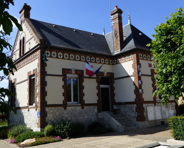 La Mairie de Paucourt - Photo prise le 02.06.2015
