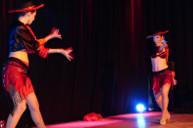 Claire et Laura, les deux charmantes danseuses de Sandra Léane.