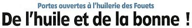 Article publié par l'Eclaireur-du-Gâtinais le 25.04.2013 sur la Famille Rivière, agriculteurs à Courtenay et producteurs d'huile de la ferme. Cliquez pour visualiser.