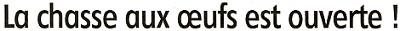 Cliquez ICI pour visualiser l'article publié par l'Eclaireur-du-Gâtinais dans son édition du 12.04.2012 sur la chasse aux oeufs organisée par l'APE.