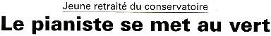 Christophe Grévy, professeur de piano en retraite, président des Croqueurs de Pommes du Bocage Gâtinais. Cliquez pour visualiser l'intégralité de l'article.