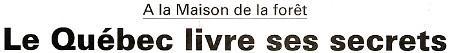 Intégralité du compte-rendu publié par l'Eclaireur-du-Gâtinais le 3 Mars 2011 sur la journée canadienne du 23 Février.