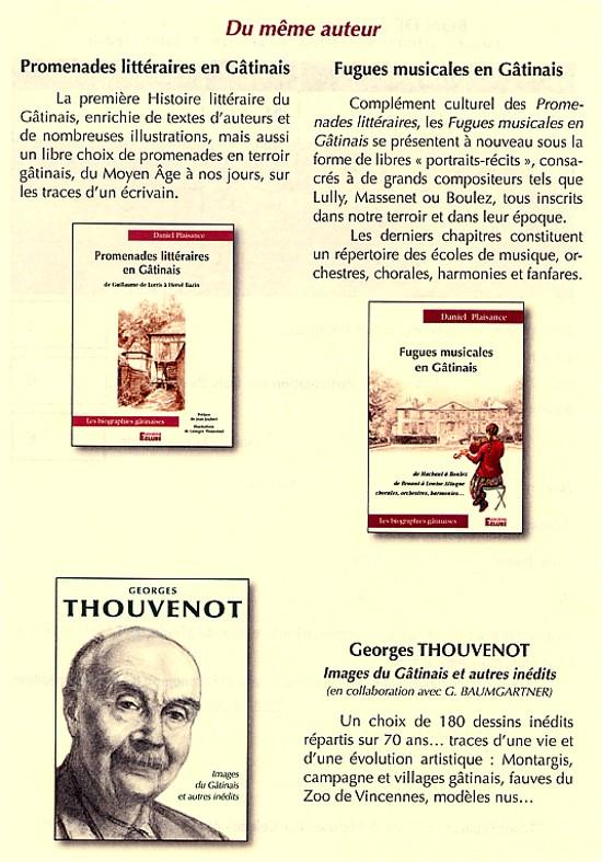 Daniel Plaisance - ses autres ouvrages
