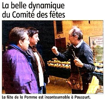 Cliquez ici pour visualiser l'intégralité de l'article paru dans l'Eclaireur-du-Gâtinais du 19 Janvier 2012.
