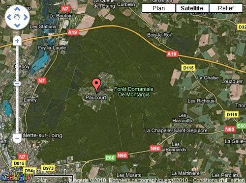 Cliquez sur ce plan pour l'agrandir et naviguez en toute liberté avec Google Maps et Google Earth