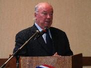 Jean-Pierre Door, député-maire de Montargis, président de l'Agglomération Montargoise Et rives du loing.