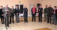 Bernard Delaveau, Maire de Paucourt, en présence de Franck Demaumont, Conseiller Général, présente ses voeux aux habitants de Paucourt, fait le point sur les réalisations 2010 et évoque les projets pour 2011.