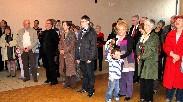 Quelques uns des Paucourtois présents à la Cérémonie des Voeux : élus, jeunes, responsables d'Associations, membres du Comité des Fêtes, etc.
