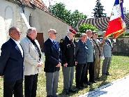 Les anciens combattants de Paucourt et de l'Arrondissement de Montargis.