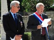 Monsieur Bernard Delaveau, maire de Paucourt.