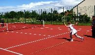 Le jeu du Tennis Club Paucourtois.