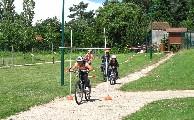 Parcours vélo enfants. Commission d'Animation.