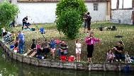 A partir de 10h, concours de pêche dans le vivier de la Mairie réservé aux enfants de 6 à 12 ans.