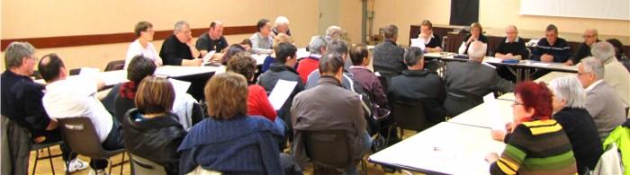 Assemblée Générale du Comité des Fêtes de Paucourt 2013 - Vendredi 15 Mars.