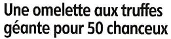 Compte rendu publié par la République du Centre sur l'omelette géante réalisée par Lous Amics de la Padère le samedi 1er Octobre 2011.