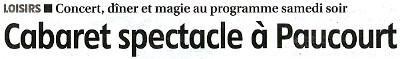 Article publié par la République du Centre dans son édition du 09.11.2012. Cliquez sur le bandeau pour le visualiser dans son intégralité.
